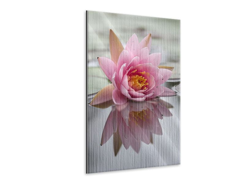 Metallic-Bild Lotus