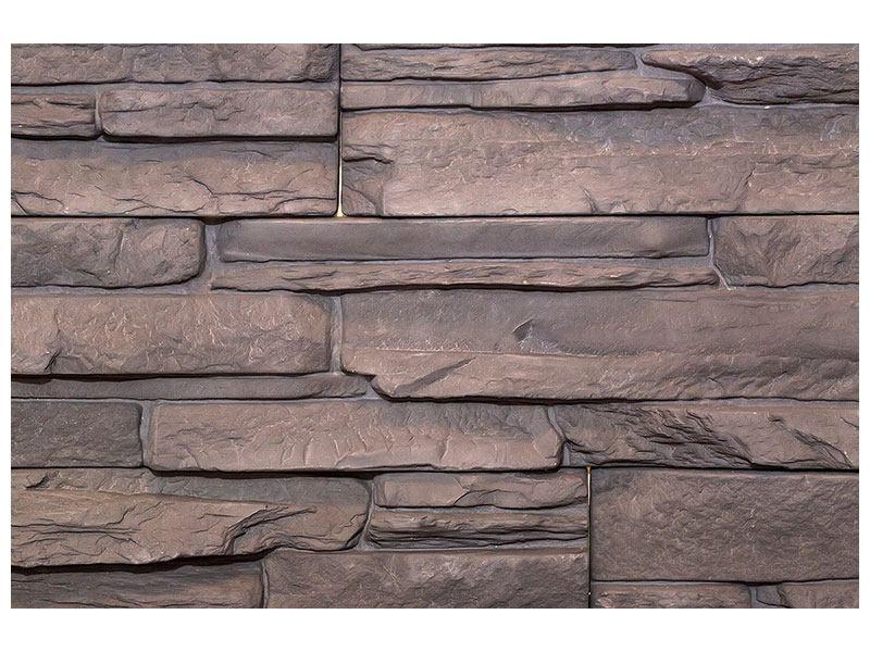 Metallic-Bild Luxusmauer