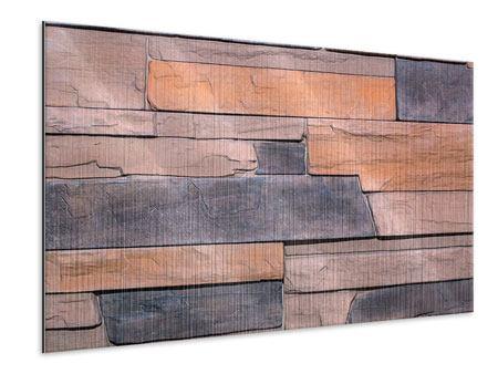 Metallic-Bild Wall