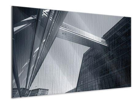 Metallic-Bild Der schwarze Diamant Kopenhagens