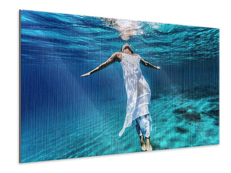 Metallic-Bild Schönheit unter Wasser