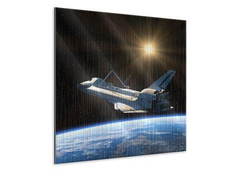 Metallic-Bild Das Raumschiff
