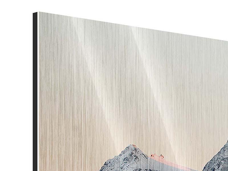 Metallic-Bild Die Antarktis