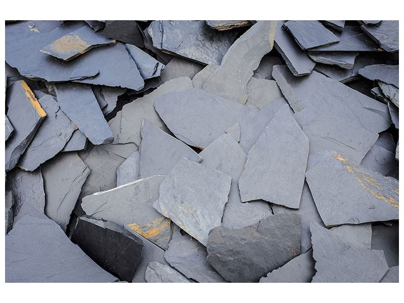 Metallic-Bild Schieferplatten