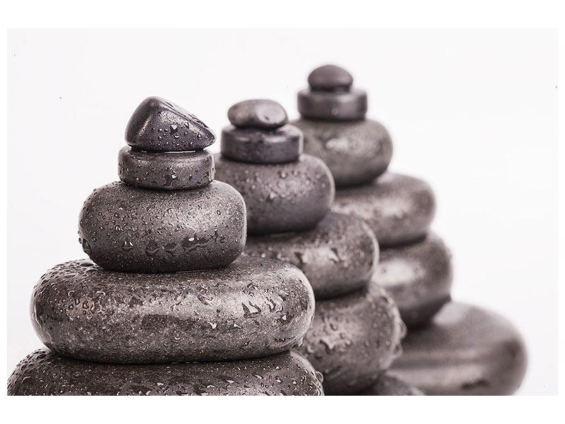 Metallic-Bild Die Kraft der Steine