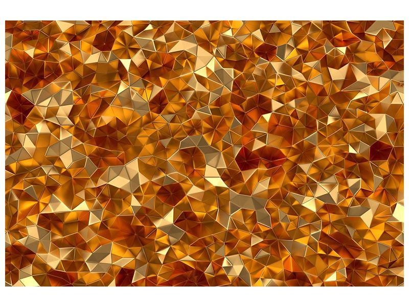 Metallic-Bild 3D-Bernsteine