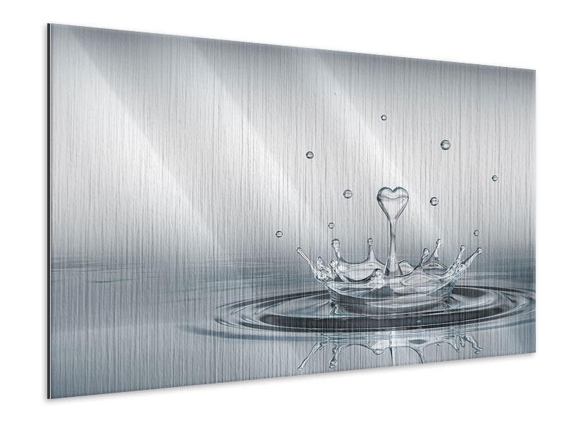 Metallic-Bild Wasserfigur