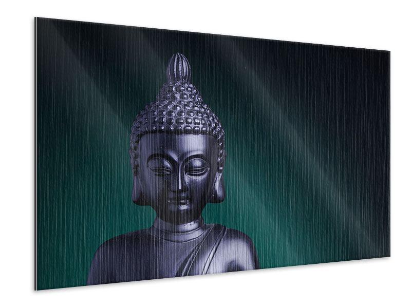 Metallic-Bild Die Weisheit des Buddhas