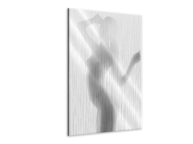 Metallic-Bild Aktmodel