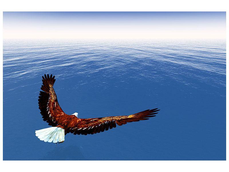 Metallic-Bild Der Adler