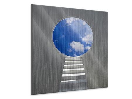 Metallic-Bild Himmelstreppe