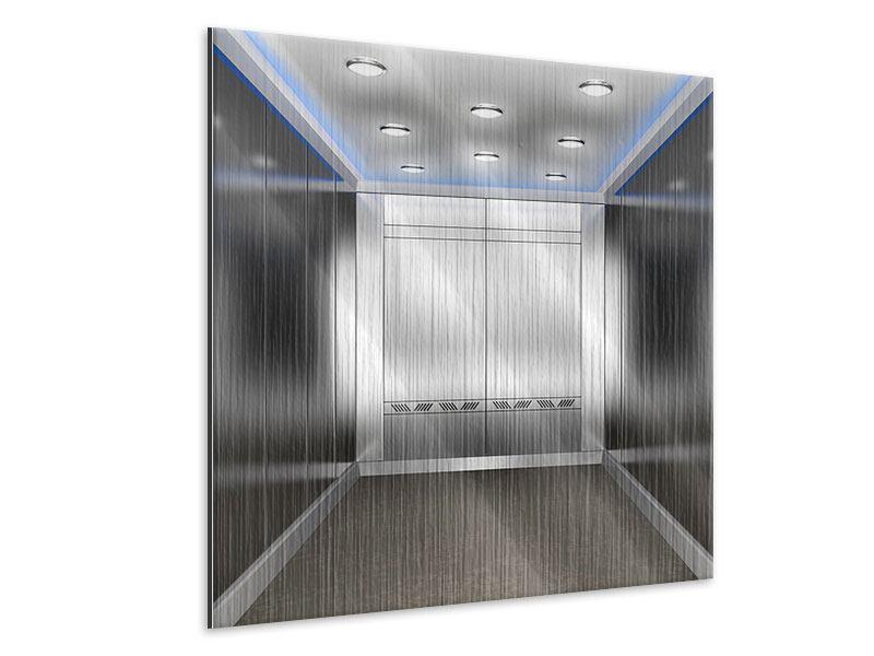 Metallic-Bild Eleganter Aufzug