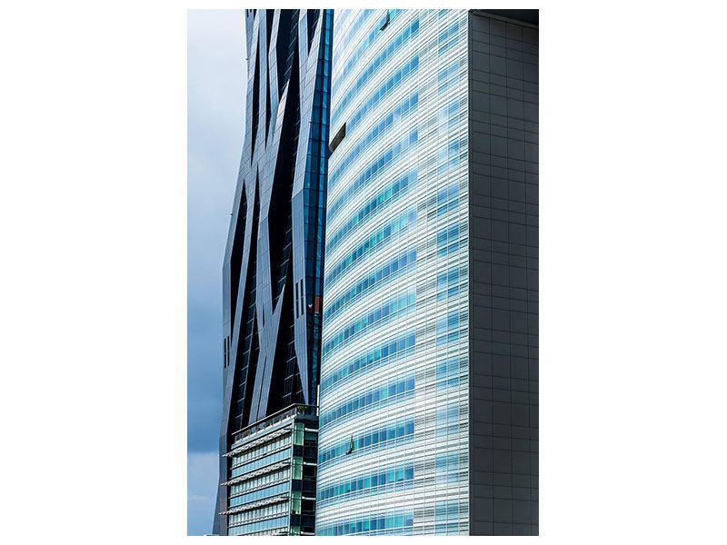 Metallic-Bild Wolkenkratzer