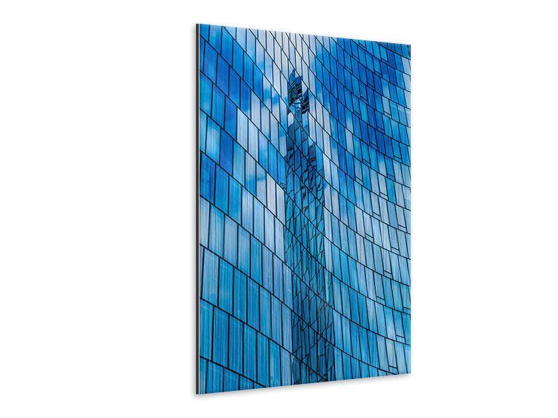 Metallic-Bild Glashaus