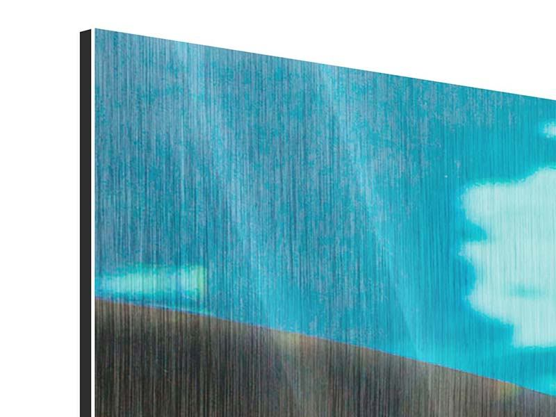 Metallic-Bild Der Haifisch