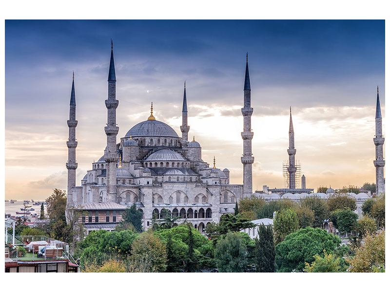 Metallic-Bild Istanbul