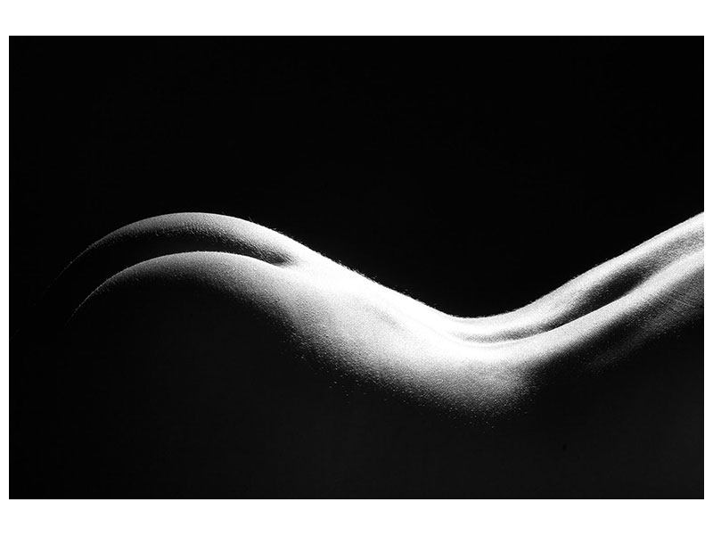 Metallic-Bild Nude