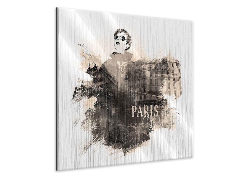 Metallic-Bild Pariser Modell