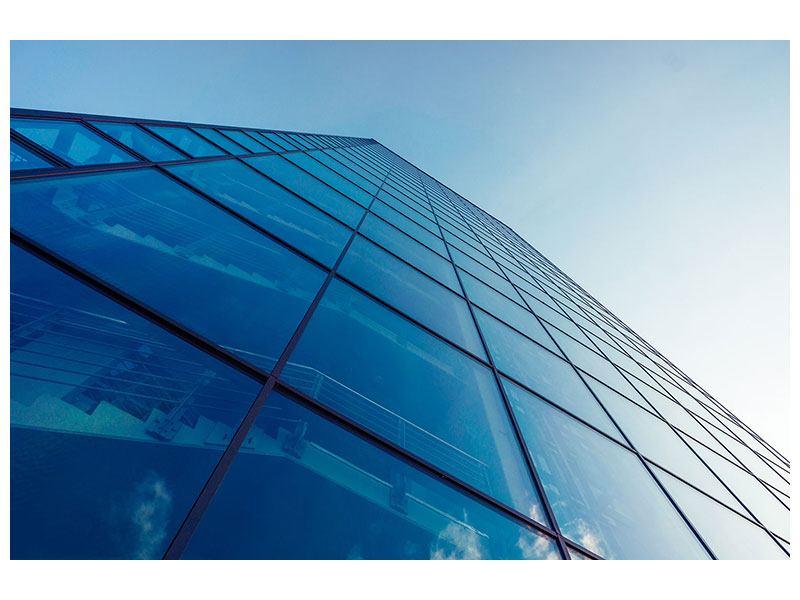 Metallic-Bild Wolkenkratzer-Highlight