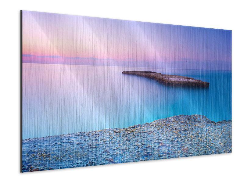 Metallic-Bild Unendlicher Ozean