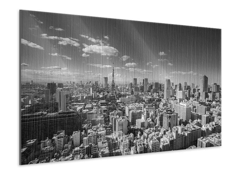 Metallic-Bild Tokio