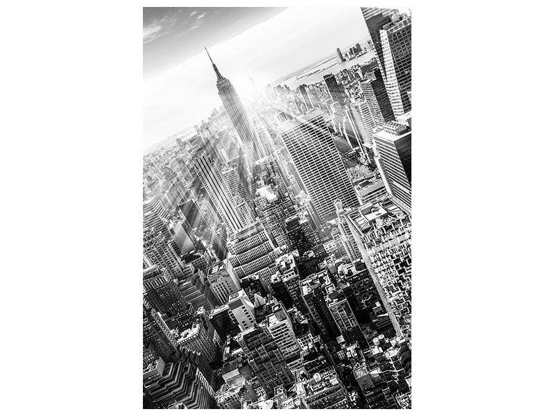 Metallic-Bild Wolkenkratzer New York