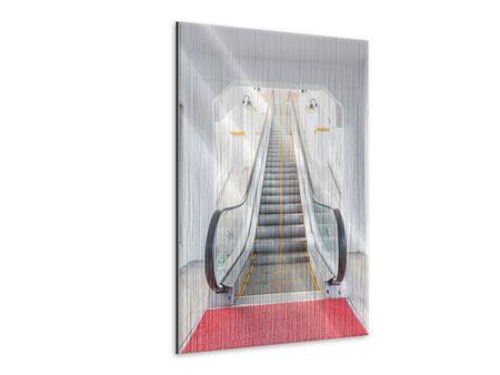 Metallic-Bild Rolltreppe