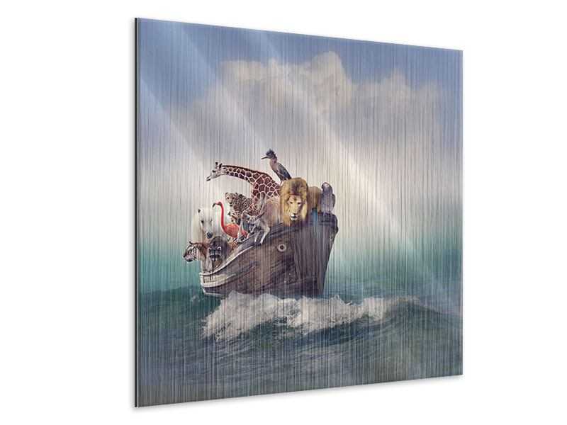 Metallic-Bild Arche Noah