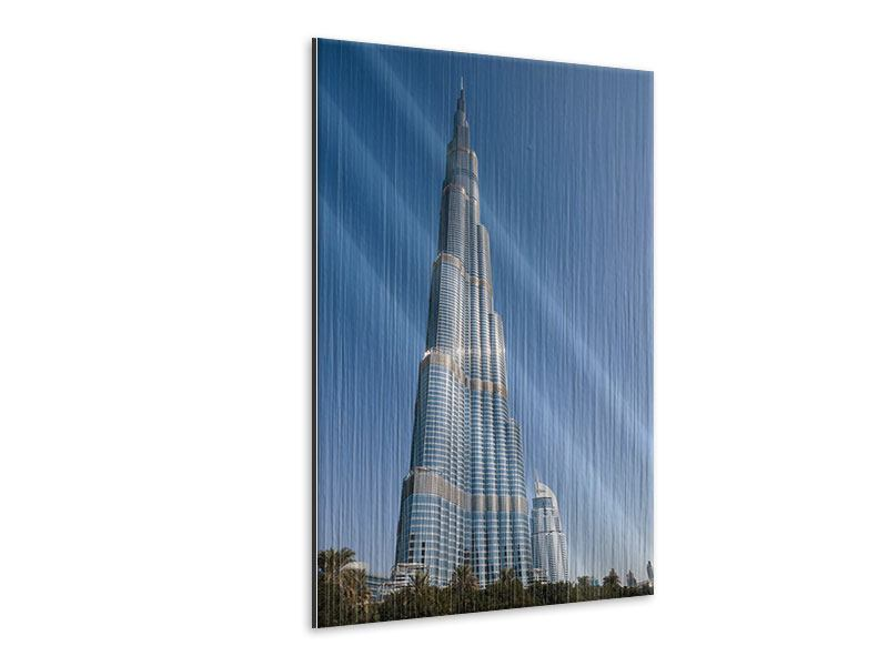 Metallic-Bild Wolkenkratzer Dubai