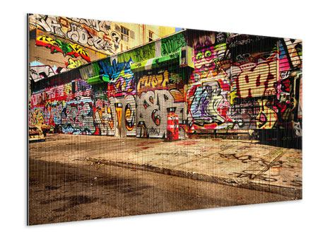 Metallic-Bild NY Graffiti