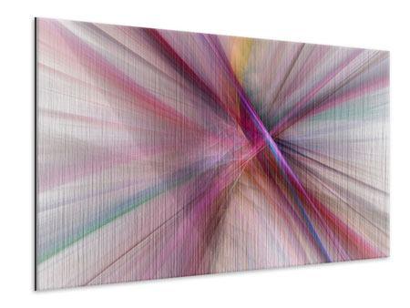 Metallic-Bild Abstraktes Lichterleuchten