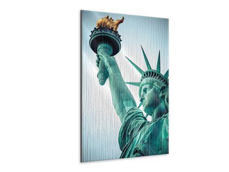 Metallic-Bild Freiheitsstatue