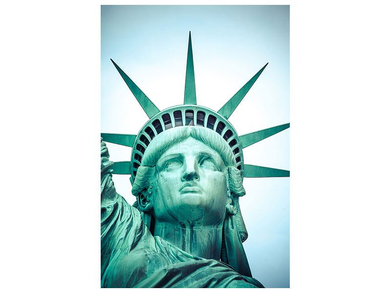 Metallic-Bild Statue of Liberty