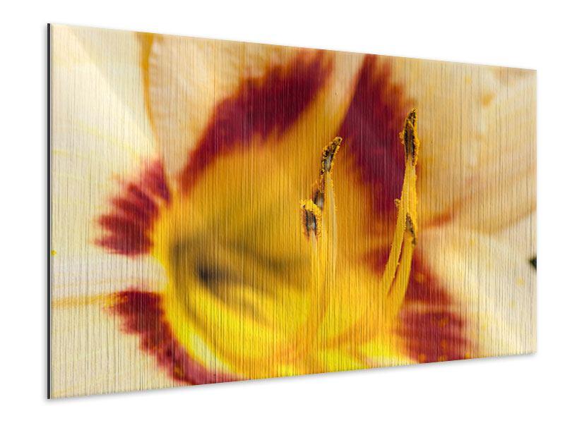 Metallic-Bild Riesenlilie