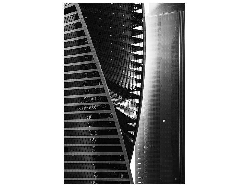 Metallic-Bild Skyscraper