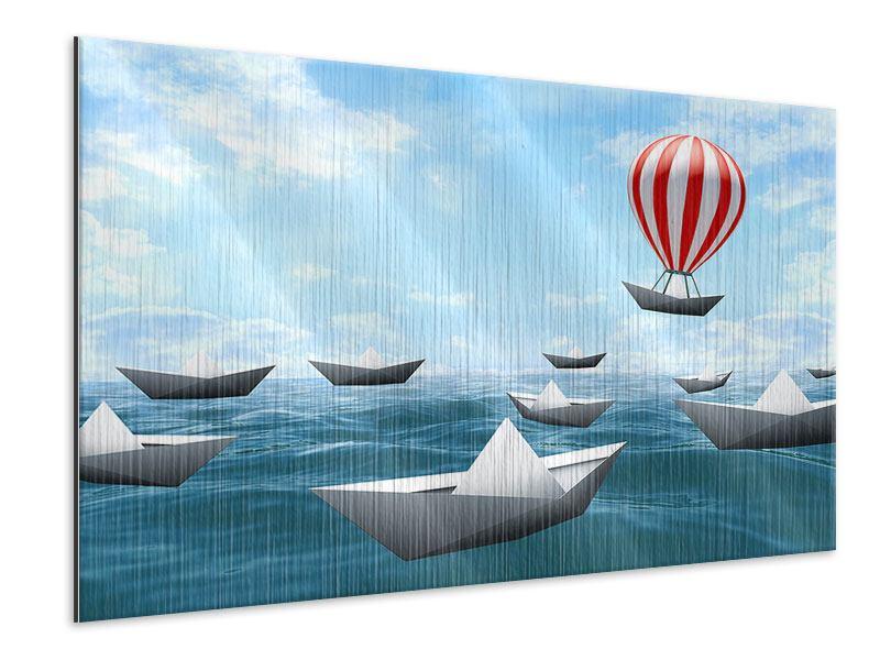 Metallic-Bild Schiffchen
