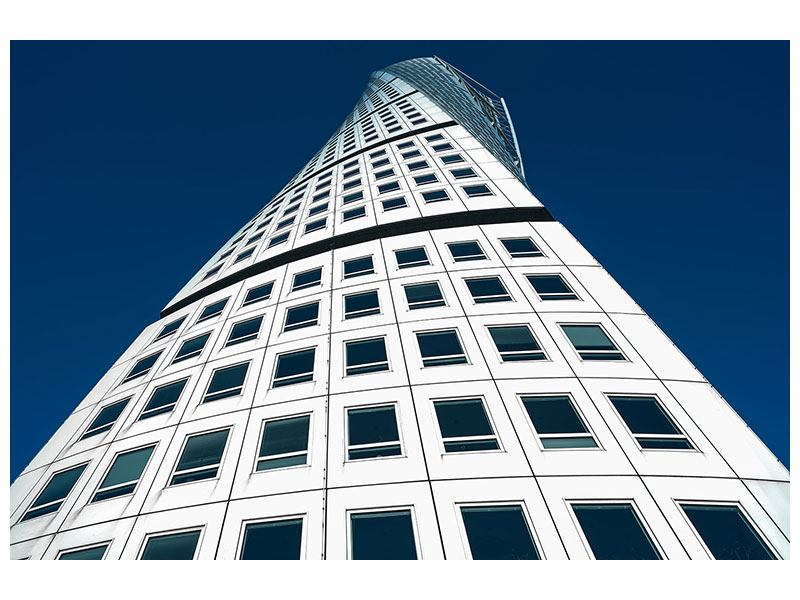 Metallic-Bild Meisterstück Wolkenkratzer