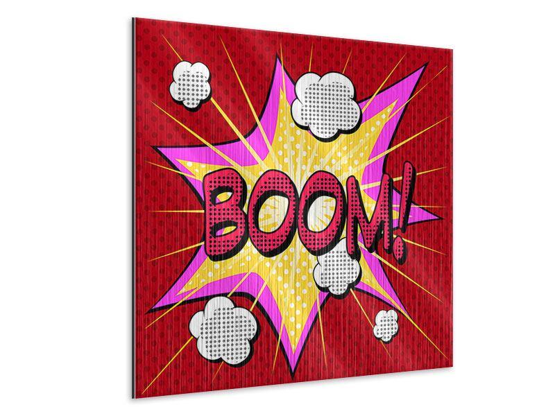 Metallic-Bild Pop Art Boom