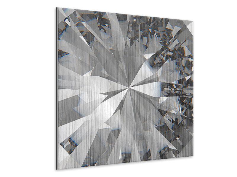 Metallic-Bild Riesendiamant