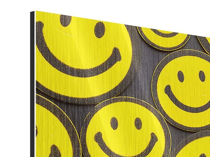 Metallic-Bild Smileys