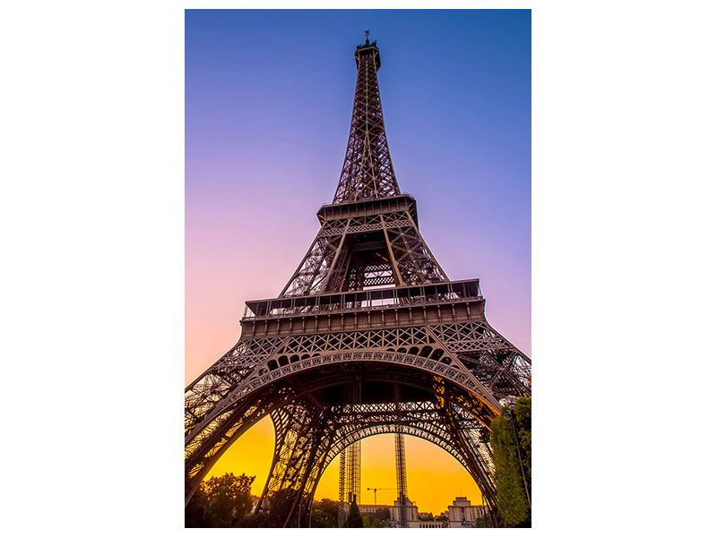 Metallic-Bild Paris- Eiffelturm