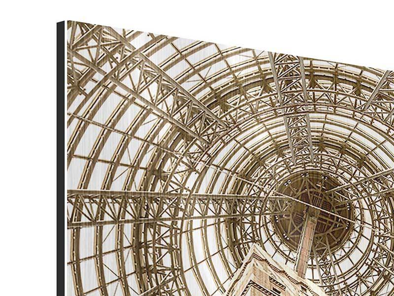 Metallic-Bild Wolkenkratzer Close Up