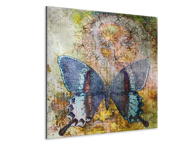 Metallic-Bild Ornament-Schmetterling