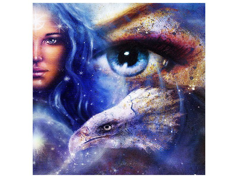 Metallic-Bild Eyecatcher