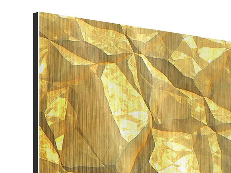 Metallic-Bild Gold