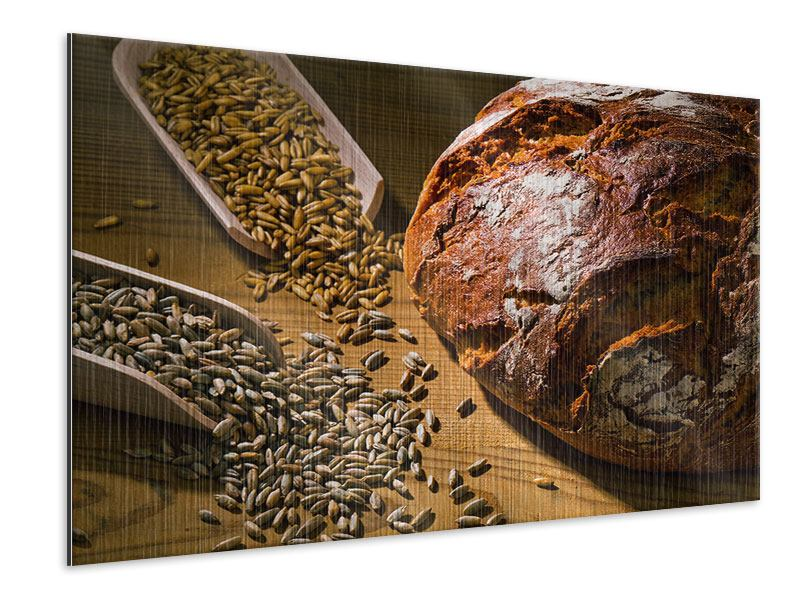 Metallic-Bild Das Brot