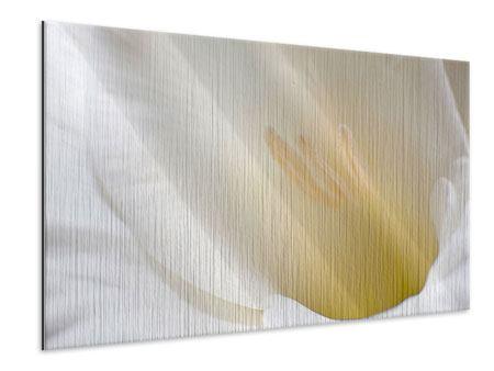 Metallic-Bild In einer Blüte