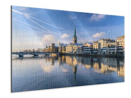 Metallic-Bild Zürich