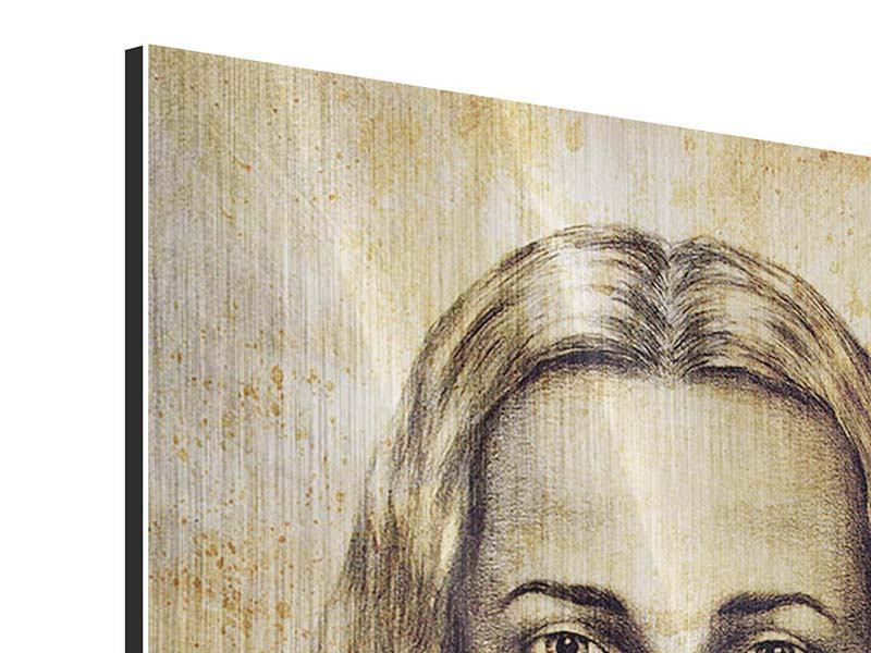 Metallic-Bild Jesus Gemälde