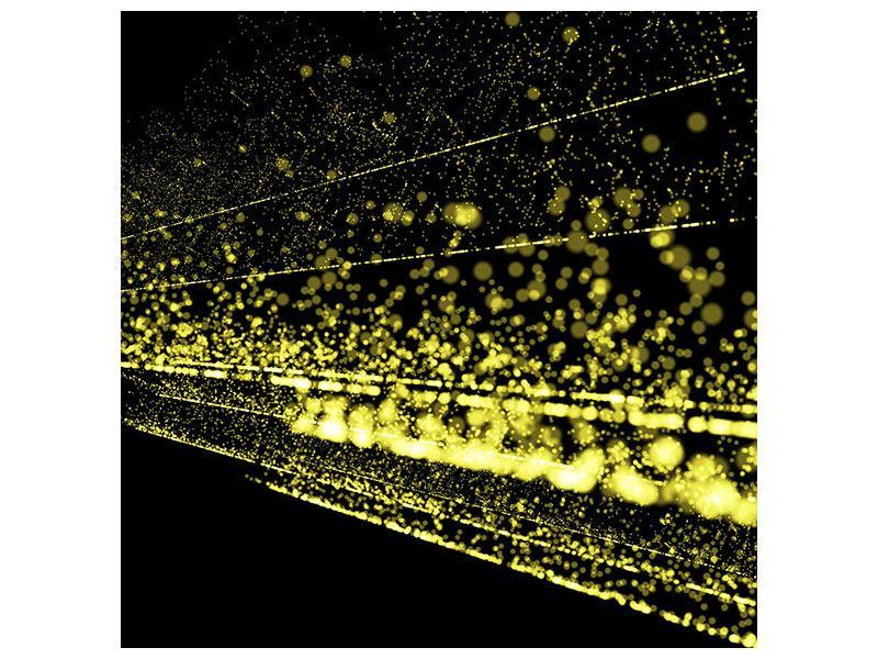 Metallic-Bild Abstrakte Lichter